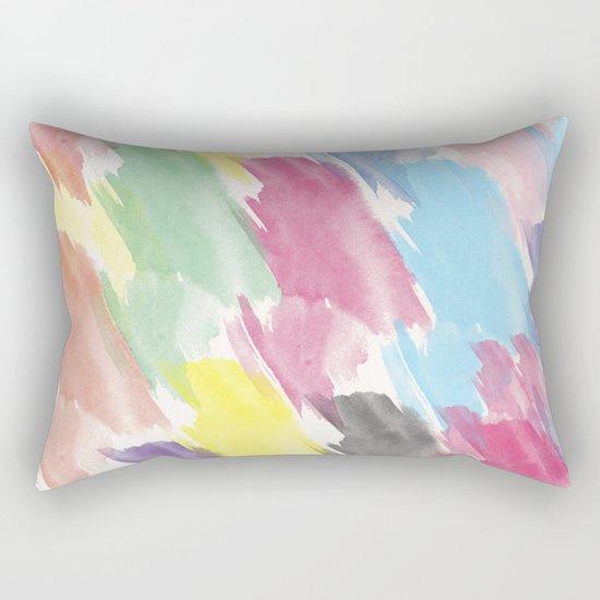 Abstract 38 Rectangular Pillow