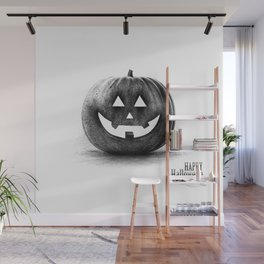 Halloween graffiti Wall Mural