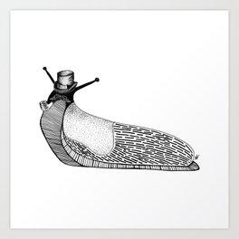 Dapper Slug Art Print