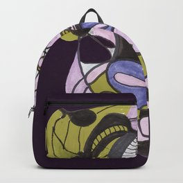 moody abstract Backpack