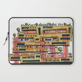 Urban Nature Building Architectural Illustration 62 Laptop Sleeve