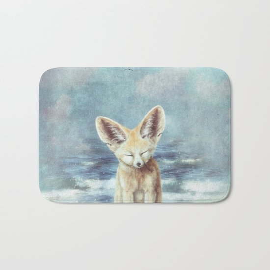 A Fennec's Dream Bath Mat