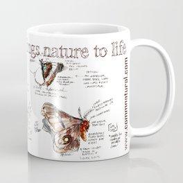 Lepidoptera inspiration: a watercolor collection of Saskatchewan moths & butterflies Coffee Mug