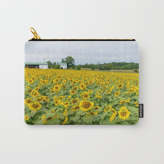 Field of Yellow Carry-All Pouch
