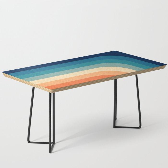 Retro 70s Color Palette III Coffee Table