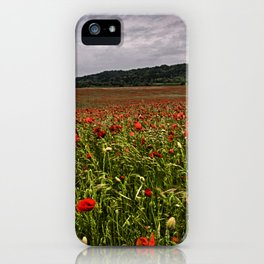 Boxley Poppy Fields iPhone Case