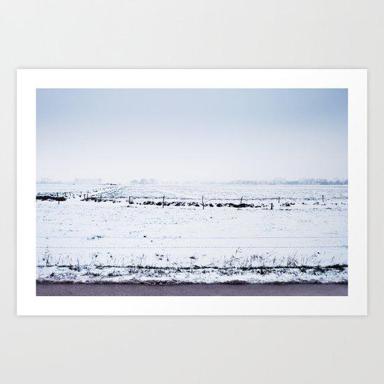 Winter VII Art Print