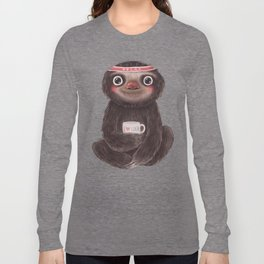 Sloth I♥yoga Long Sleeve T-shirt