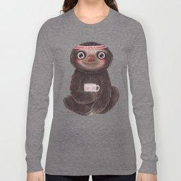 Sloth I♥yoga Long Sleeve T-shirt