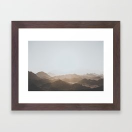 Desert of Egypt V (brighter) Framed Art Print