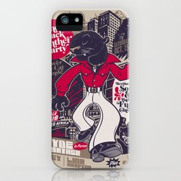 The Black Panther Party iPhone Case