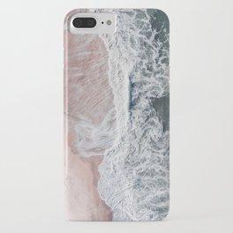 Crashing waves iPhone Case