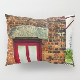 Vintage Station Entrance Pillow Sham