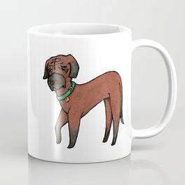 Maki the Rhodesian Ridgeback Coffee Mug