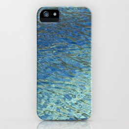 Spring Water Abstract iPhone Case