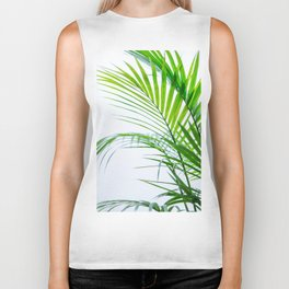 Palm leaves paradise Biker Tank