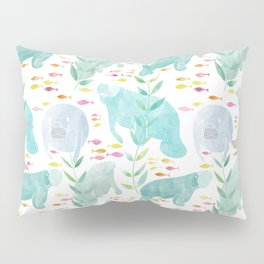 Lazy Manatees Pillow Sham