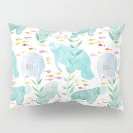 Lazy Manatees Pillow Sham
