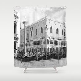 View of Venice St. Mark's Square Shower Curtain