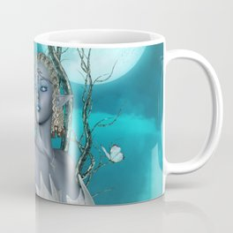 Wonderful fairy with bird Coffee Mug