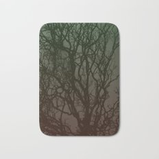Ombre branches Bath Mat