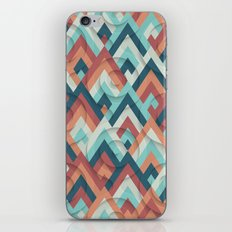 geometric vintage 70s iPhone Skin