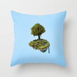 Tree Rest Throw Pillow