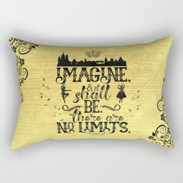 The Crown's Game - No Limits Rectangular Pillow