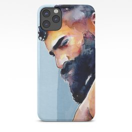 Bearded Hunk iPhone Case