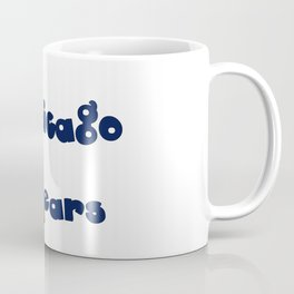 Da Bears Font Typography Coffee Mug
