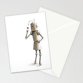 Robot Child Stationery Cards