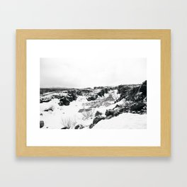 Þingvellir Framed Art Print