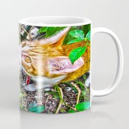 The Pumpkin in the Garden Coffee Mug