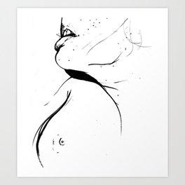 Thespacebetween Art Print