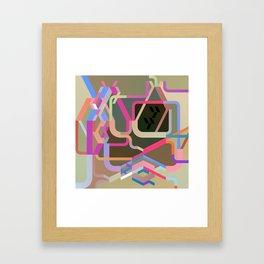Maskine 1 Framed Art Print