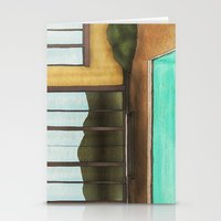 pool Stationery Cards featuring Pool by Theodore Parks