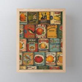 Canned in the USA Framed Mini Art Print