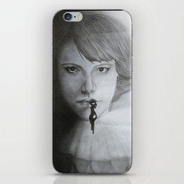 Varnish lady iPhone Skin