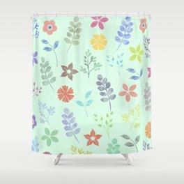 Flower Pattern VI Shower Curtain