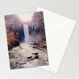 Tranquil Waterfall: Taughannock Falls, NY Stationery Cards