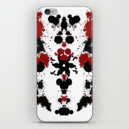 Rorschach 9 iPhone Skin