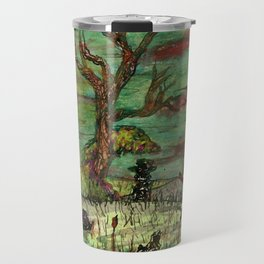 Consulting With The Tree Travel Mug