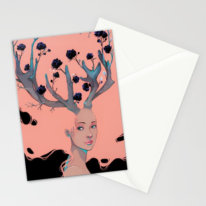 Lady Cornue. Stationery Cards