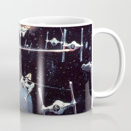 Concept Space Battle Coffee Mug