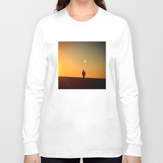 First Moonrise on Tatooine Long Sleeve T-shirt