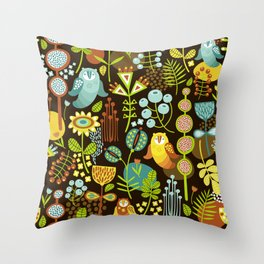 Scandi Forest 6 Throw Pillow
