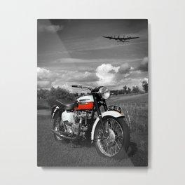 Triumph Bonneville T120 1959 Metal Print