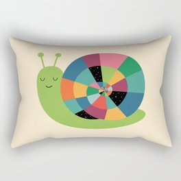 Snail Time Rectangular Pillow