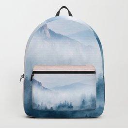 Pastel landscape 03 Backpack