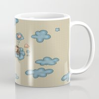 angel Mugs featuring Angel by Catru